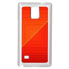 Abstract Clutter Baffled Field Samsung Galaxy Note 4 Case (white)