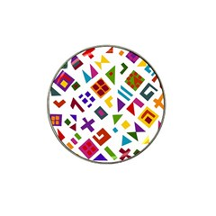 A Colorful Modern Illustration For Lovers Hat Clip Ball Marker (10 Pack)