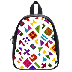 A Colorful Modern Illustration For Lovers School Bags (small)