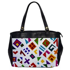 A Colorful Modern Illustration For Lovers Office Handbags