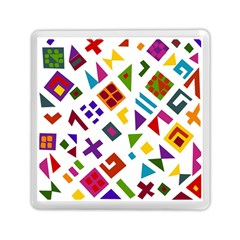 A Colorful Modern Illustration For Lovers Memory Card Reader (square)