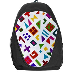A Colorful Modern Illustration For Lovers Backpack Bag