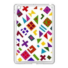 A Colorful Modern Illustration For Lovers Apple Ipad Mini Case (white)
