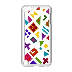 A Colorful Modern Illustration For Lovers Apple iPod Touch 5 Case (White)