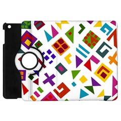 A Colorful Modern Illustration For Lovers Apple iPad Mini Flip 360 Case