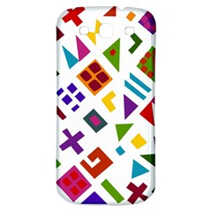 A Colorful Modern Illustration For Lovers Samsung Galaxy S3 S III Classic Hardshell Back Case