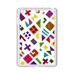 A Colorful Modern Illustration For Lovers iPad Mini 2 Enamel Coated Cases