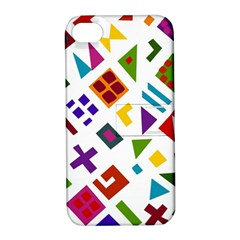 A Colorful Modern Illustration For Lovers Apple iPhone 4/4S Hardshell Case with Stand