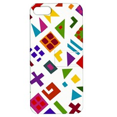 A Colorful Modern Illustration For Lovers Apple iPhone 5 Hardshell Case with Stand