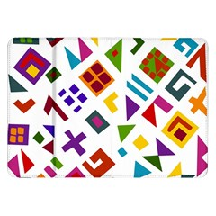 A Colorful Modern Illustration For Lovers Samsung Galaxy Tab 8.9  P7300 Flip Case