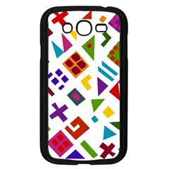 A Colorful Modern Illustration For Lovers Samsung Galaxy Grand DUOS I9082 Case (Black)