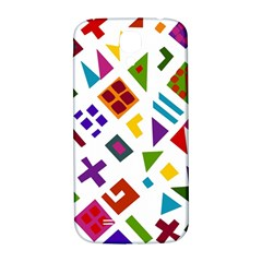 A Colorful Modern Illustration For Lovers Samsung Galaxy S4 I9500/I9505  Hardshell Back Case