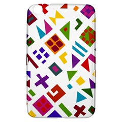 A Colorful Modern Illustration For Lovers Samsung Galaxy Tab 3 (8 ) T3100 Hardshell Case