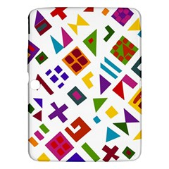 A Colorful Modern Illustration For Lovers Samsung Galaxy Tab 3 (10.1 ) P5200 Hardshell Case