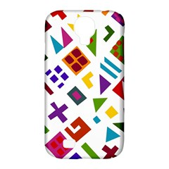 A Colorful Modern Illustration For Lovers Samsung Galaxy S4 Classic Hardshell Case (PC+Silicone)