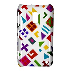 A Colorful Modern Illustration For Lovers Nokia Lumia 620