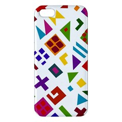 A Colorful Modern Illustration For Lovers iPhone 5S/ SE Premium Hardshell Case