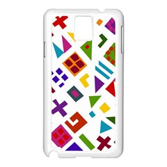 A Colorful Modern Illustration For Lovers Samsung Galaxy Note 3 N9005 Case (White)