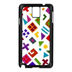 A Colorful Modern Illustration For Lovers Samsung Galaxy Note 3 N9005 Case (Black)