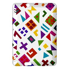 A Colorful Modern Illustration For Lovers Kindle Fire HDX Hardshell Case