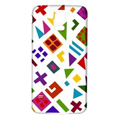 A Colorful Modern Illustration For Lovers Samsung Galaxy S5 Back Case (White)