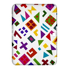A Colorful Modern Illustration For Lovers Samsung Galaxy Tab 4 (10 1 ) Hardshell Case