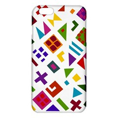 A Colorful Modern Illustration For Lovers iPhone 6 Plus/6S Plus TPU Case