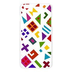 A Colorful Modern Illustration For Lovers Apple Seamless iPhone 6 Plus/6S Plus Case (Transparent)
