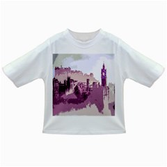 Abstract Painting Edinburgh Capital Of Scotland Infant/Toddler T-Shirts