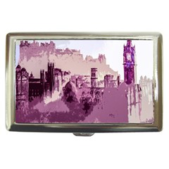 Abstract Painting Edinburgh Capital Of Scotland Cigarette Money Cases
