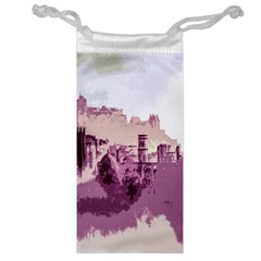 Abstract Painting Edinburgh Capital Of Scotland Jewelry Bag