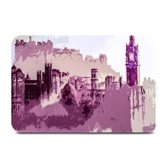 Abstract Painting Edinburgh Capital Of Scotland Plate Mats