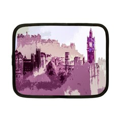 Abstract Painting Edinburgh Capital Of Scotland Netbook Case (small)