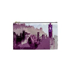 Abstract Painting Edinburgh Capital Of Scotland Cosmetic Bag (Small)
