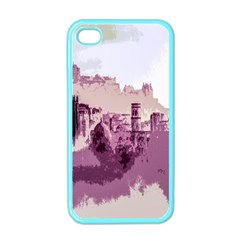 Abstract Painting Edinburgh Capital Of Scotland Apple iPhone 4 Case (Color)
