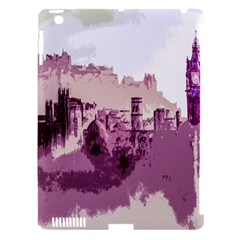 Abstract Painting Edinburgh Capital Of Scotland Apple iPad 3/4 Hardshell Case (Compatible with Smart Cover)