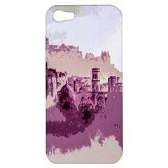 Abstract Painting Edinburgh Capital Of Scotland Apple iPhone 5 Hardshell Case