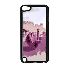 Abstract Painting Edinburgh Capital Of Scotland Apple iPod Touch 5 Case (Black)