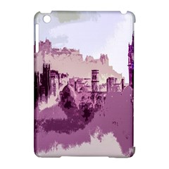Abstract Painting Edinburgh Capital Of Scotland Apple iPad Mini Hardshell Case (Compatible with Smart Cover)
