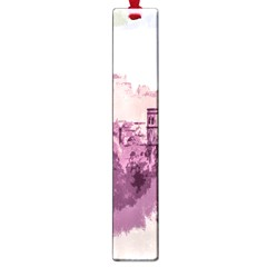 Abstract Painting Edinburgh Capital Of Scotland Large Book Marks