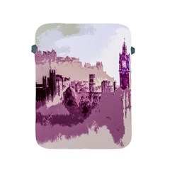 Abstract Painting Edinburgh Capital Of Scotland Apple iPad 2/3/4 Protective Soft Cases