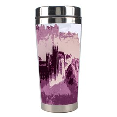 Abstract Painting Edinburgh Capital Of Scotland Stainless Steel Travel Tumblers