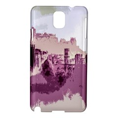 Abstract Painting Edinburgh Capital Of Scotland Samsung Galaxy Note 3 N9005 Hardshell Case