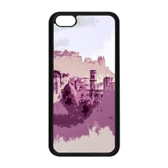 Abstract Painting Edinburgh Capital Of Scotland Apple iPhone 5C Seamless Case (Black)