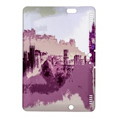 Abstract Painting Edinburgh Capital Of Scotland Kindle Fire HDX 8.9  Hardshell Case