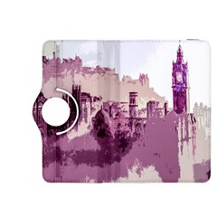 Abstract Painting Edinburgh Capital Of Scotland Kindle Fire HDX 8.9  Flip 360 Case