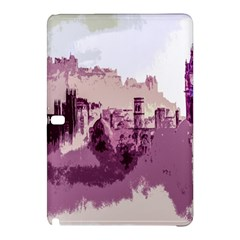 Abstract Painting Edinburgh Capital Of Scotland Samsung Galaxy Tab Pro 10 1 Hardshell Case