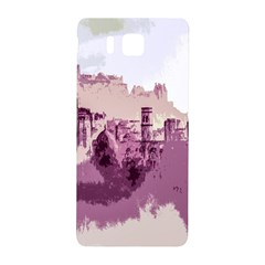 Abstract Painting Edinburgh Capital Of Scotland Samsung Galaxy Alpha Hardshell Back Case