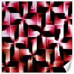 Red And Pink Abstract Background Canvas 16  X 16