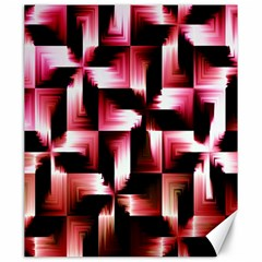 Red And Pink Abstract Background Canvas 20  X 24